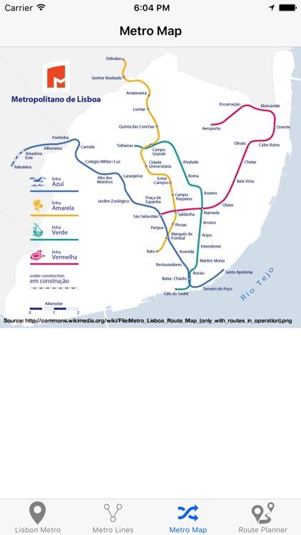 Lisbon Metro screenshot-4