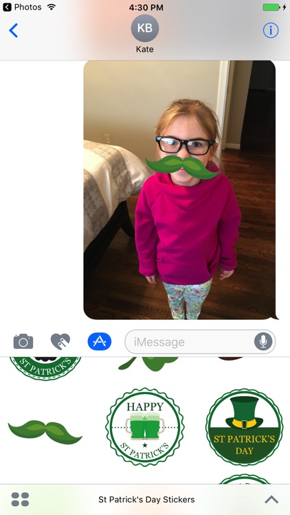 Happy St Patrick's Day Sticker Pack screenshot-3