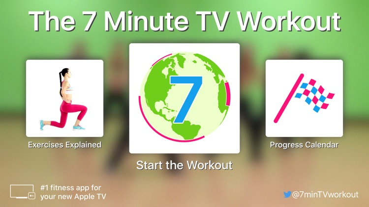 7 Minute TV Workout screenshot-0