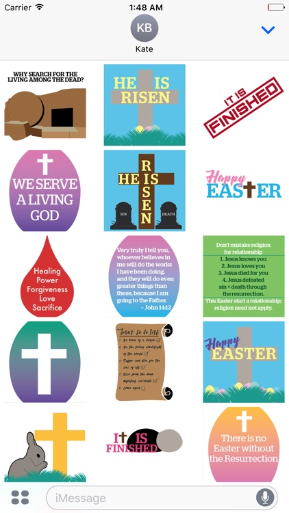 Easter Encouragement Stickers