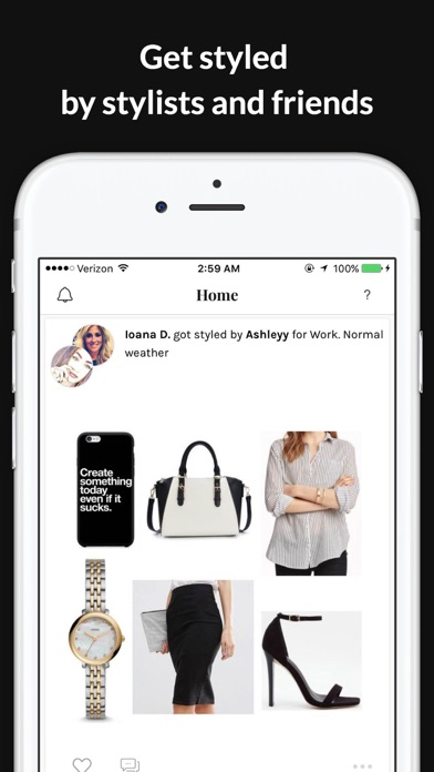 GlamOutfit closet organizer & outfit planner screenshot two