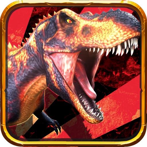 Mechanical Tyrannosaurus puzzle - kids games