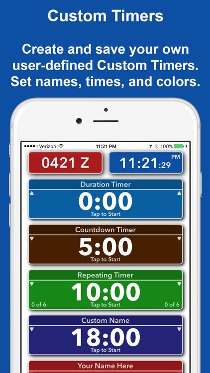 TimeStruct - Custom Timers, Quick Timer, Clocks