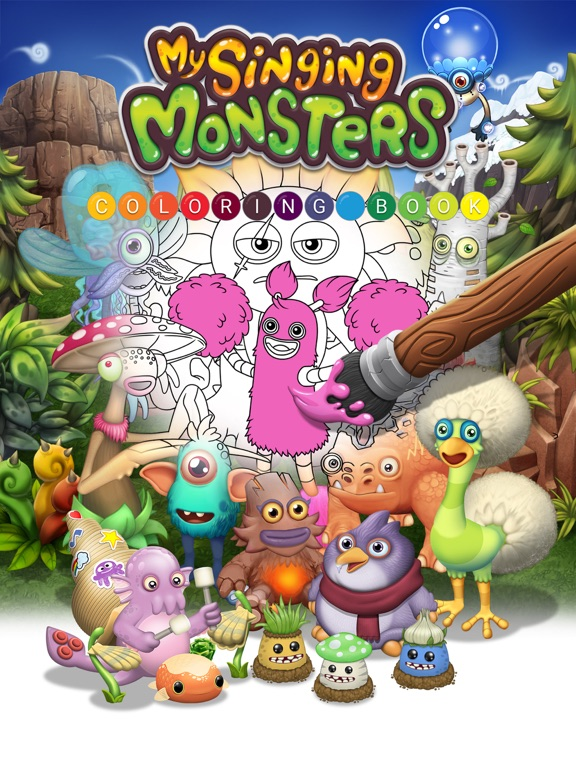 My Singing Monsters Coloring Book App Price Drops