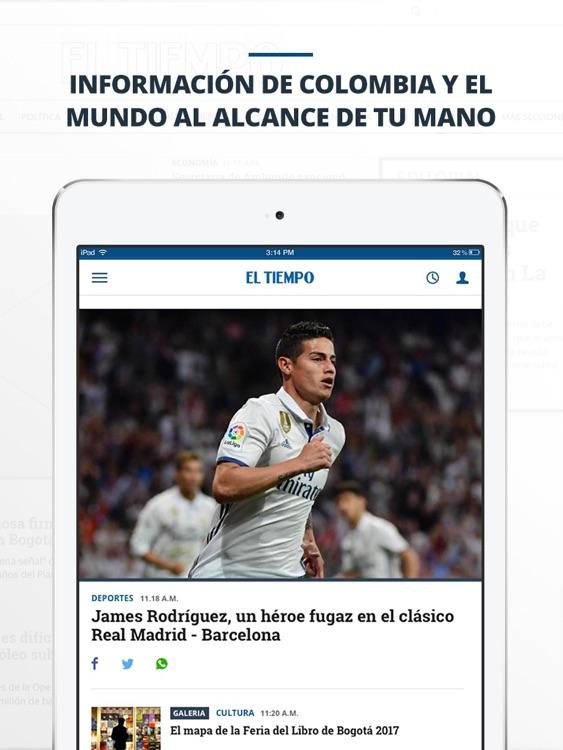 periódico EL TIEMPO screenshot-4