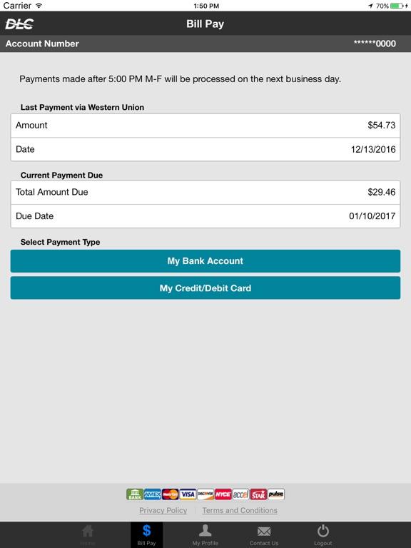 Duquesne Light Mobile Payments Screenshot · Duquesne Light Mobile Payments  Screenshot ...