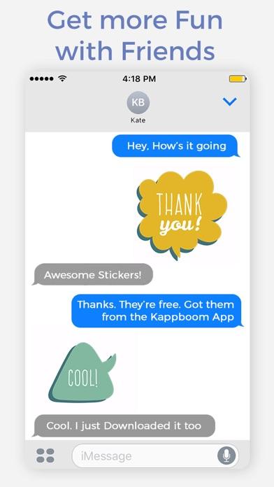 Speech Bubble App