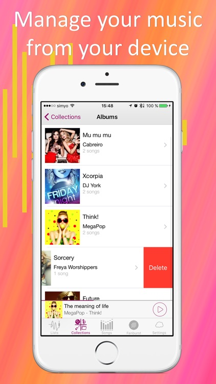 Cloud Music App