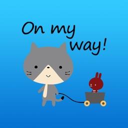 Emilio The Cute Kitten Animated English Stickers