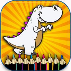 Dinazor Boyama Cocuklar Okul Oncesi Oyunu Ucretsiz App Store Da