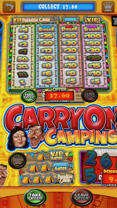 Carry On Camping - The Real Pub Fruit Machine screenshot four