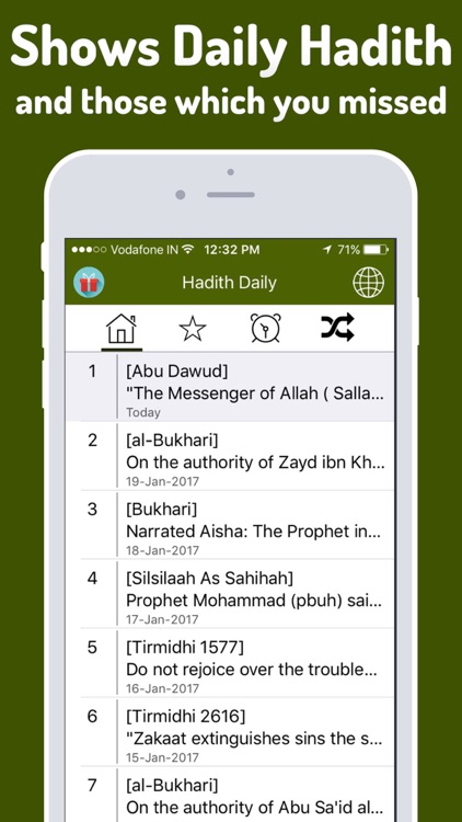 Hadith Daily Pro - Islamic App for Muslim, Islam screenshot-2