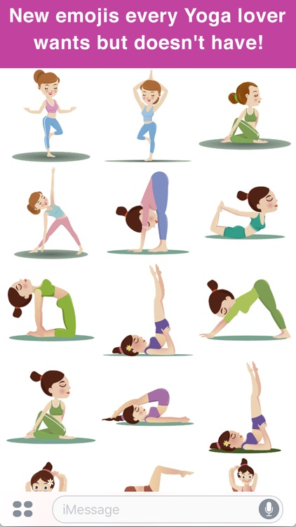 Yoga Emoji screenshot-0