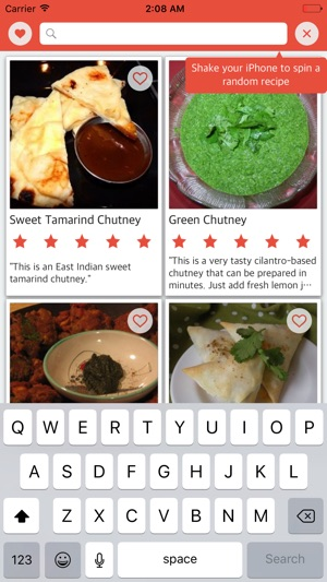 Indian recipes free sweet and spicy indian food en app store forumfinder Image collections