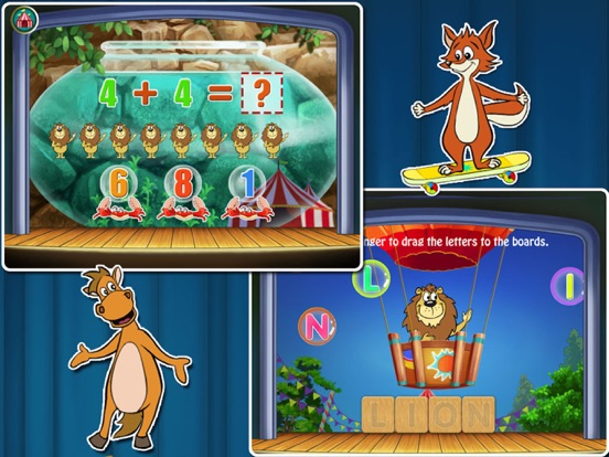 Игра Animal Preschool! Circus- Educational app for kids