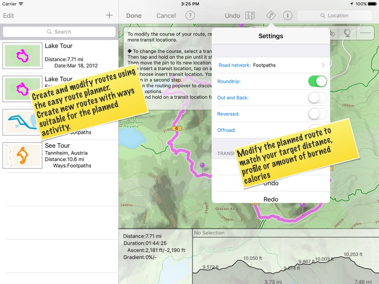 TrailRunner touch — GPS trails screenshot-3