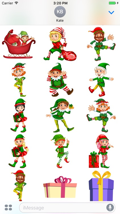 Cool Christmas Stickers screenshot-3