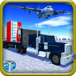 Vending Machine Transporter & Mega Cargo Simulator