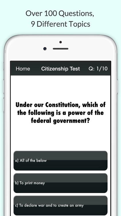 US Citizenship Test 2017 USCIS with Audio