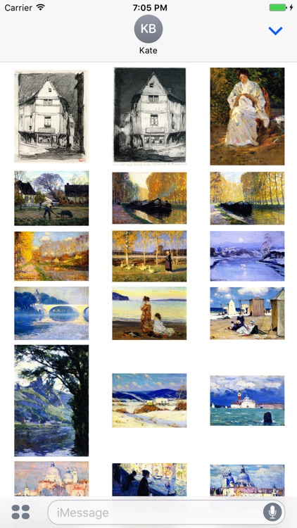 Clarence Gagnon Artworks Stickers