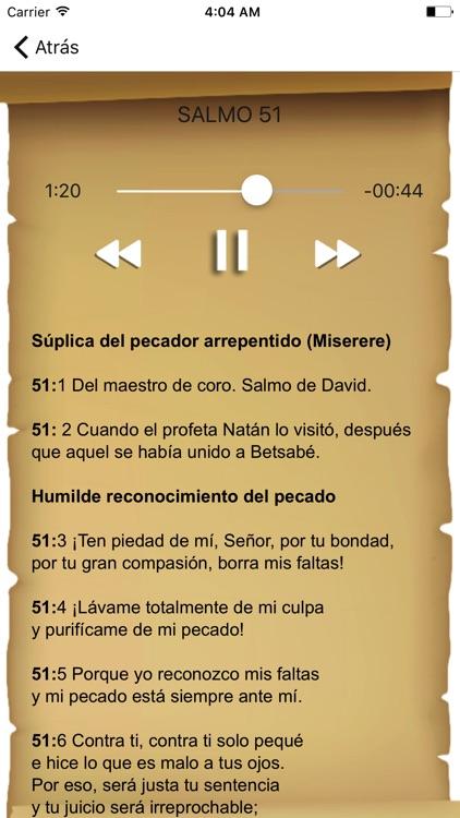 Biblia: Salmos del Antiguo Testamento con Audio