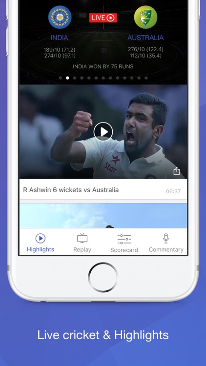Willow TV - Watch Live Cricket & Highlights