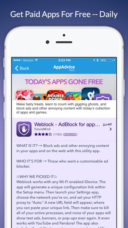 Apps Gone Free & Daily Tips