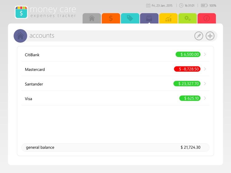 Money Care | Bills monitor screenshot-3