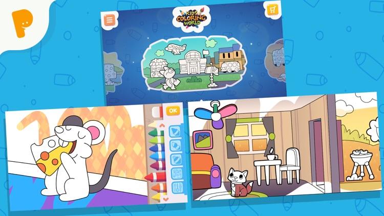 Papumba Kids Coloring World screenshot-4