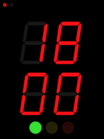 Screenshot of SpeakerClock