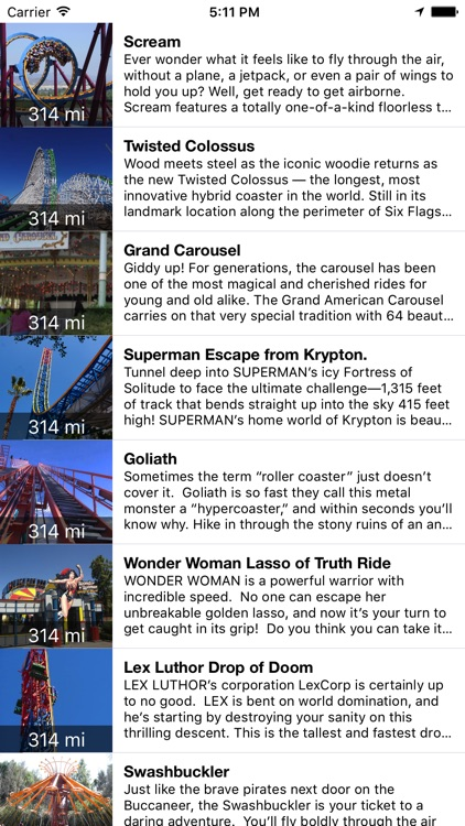 MotorCo Guide for Six Flags, Magic Mountain