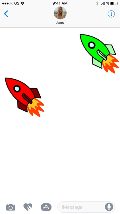 Rocket Sticker Pack!