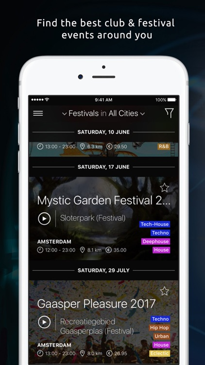 Qrash= Last minute to the best clubs & Festivals!