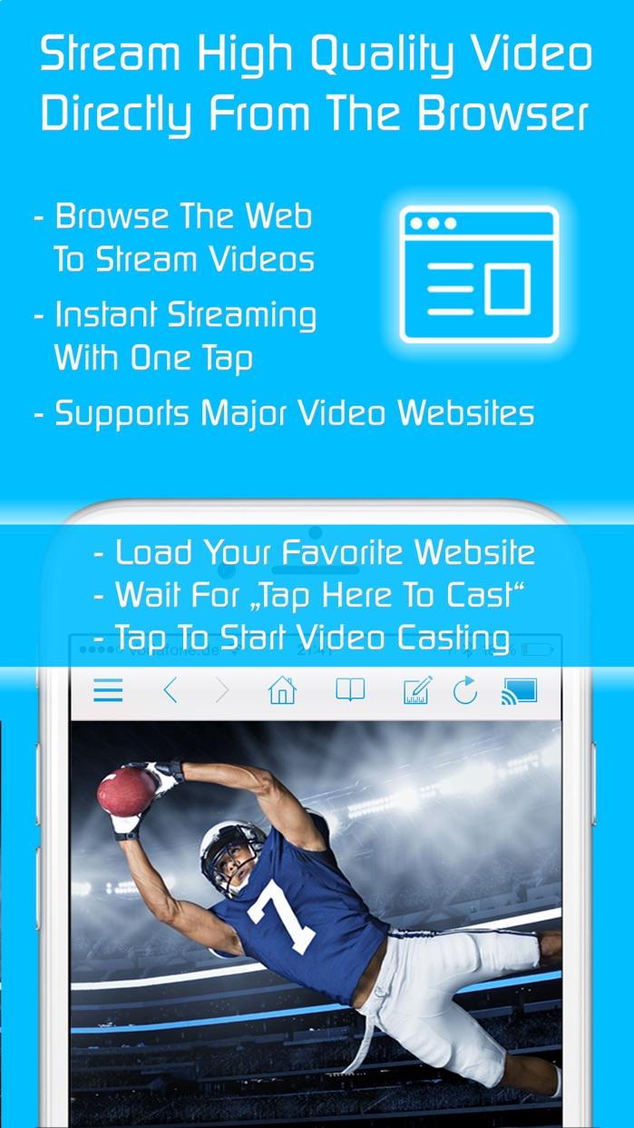 Video & TV Cast   Samsung TV Screenshot