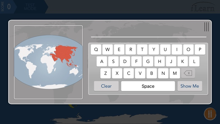 iLearn: Continents & Oceans screenshot-2