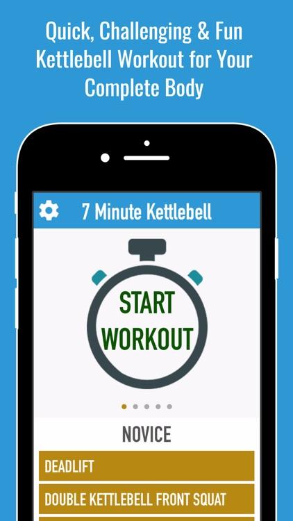 Russian Functional Kettlebell Training & Workout