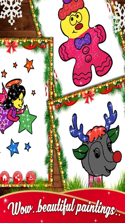 Christmas Kids Coloring Book - Holiday Fun