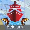 i-Boating:Belgium Marine Charts & Navigation Maps