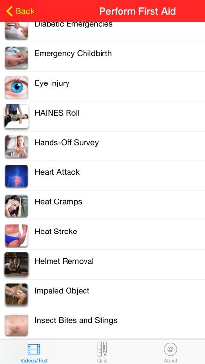 Standard First Aid screenshot-4