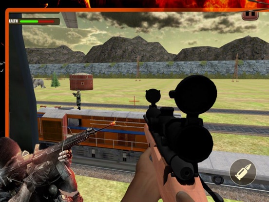 3D Attack Weapons Train screenshot 4