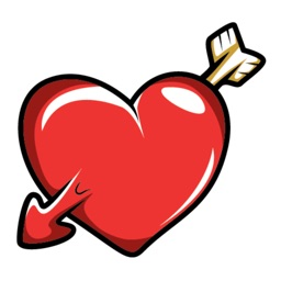 Heart iMessage Stickers