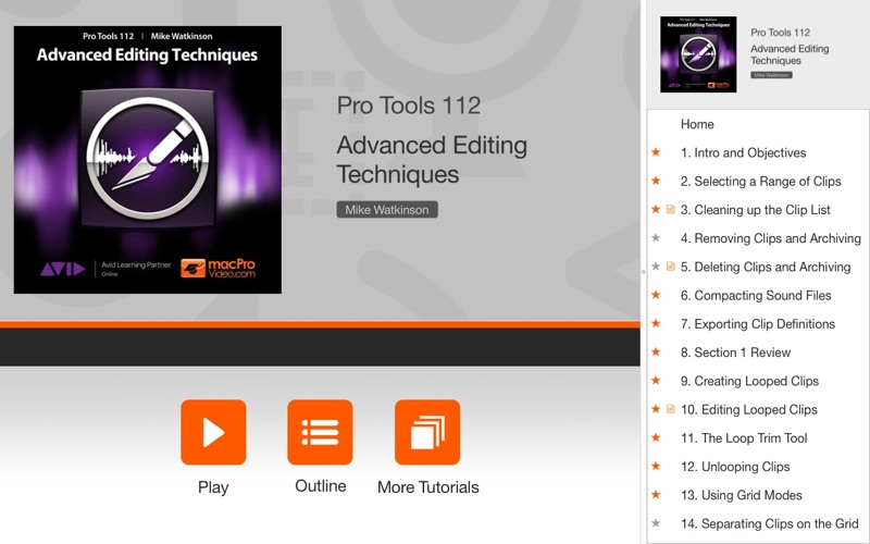Advanced Editing Course For Pro Tools 10 | App Price Drops