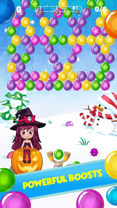 Frozen Bubble Shooter screenshot three