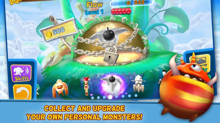 Monsters on the Run:  Smash and Go!