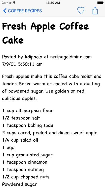 Coffee Recipe HD