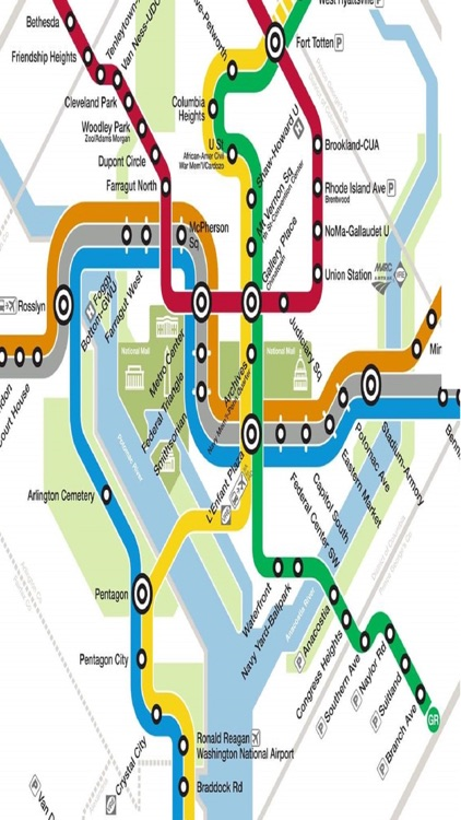 Washington DC Metro Rail Bus Amtrak Train Maps by Janice Ong on