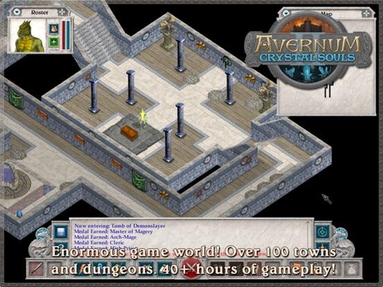 Avernum 2: Crystal Souls HD на iPad