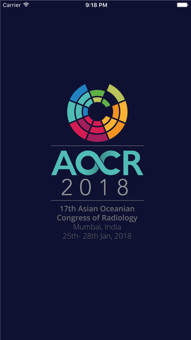 AOCR 2018 screenshot 1