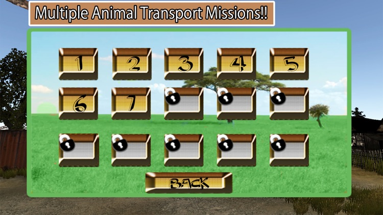 Wild Animal Rescue Truck Transport - Cattle Market screenshot-4