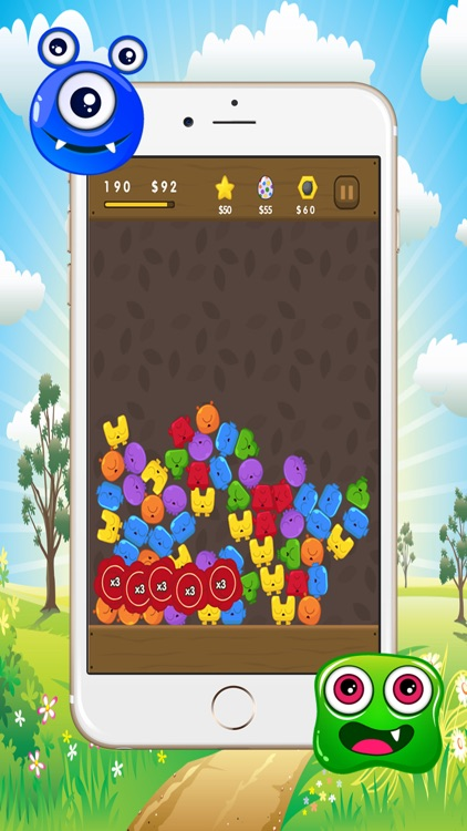 Monster Match Puzzle Game screenshot-3